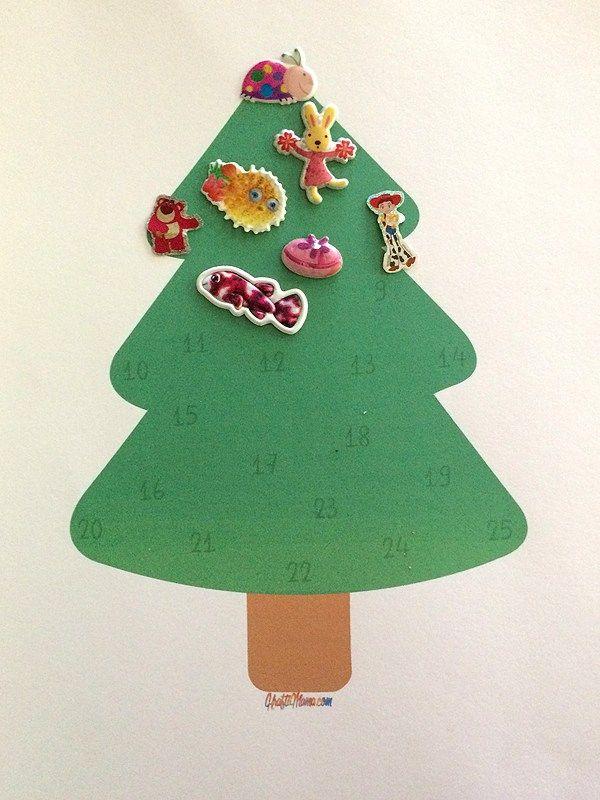KraftiMama Free Printable Advent Calendar Christmas 2016