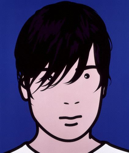 ART & ARTISTS: Julian Opie portraits