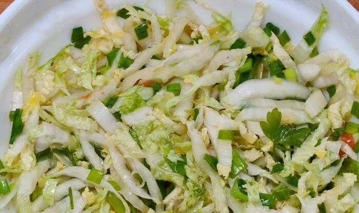 Салат из кукурузы, капусты, огурцов. Лучшие рецепты для вас на сайте «Люблю готовить»