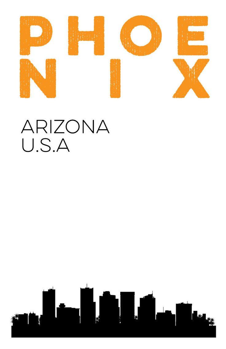 Tuscan furniture interior photography phoenix az by acme nollmeyer - Phoenix Arizona City Skyline Digital Print 11x17 Poster