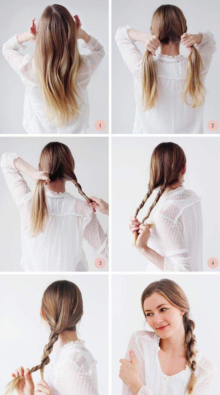 Élégantes et faciles. 50 idées de coiffure en queue de cheval et de coiffure longue pour aller au travail avec ...