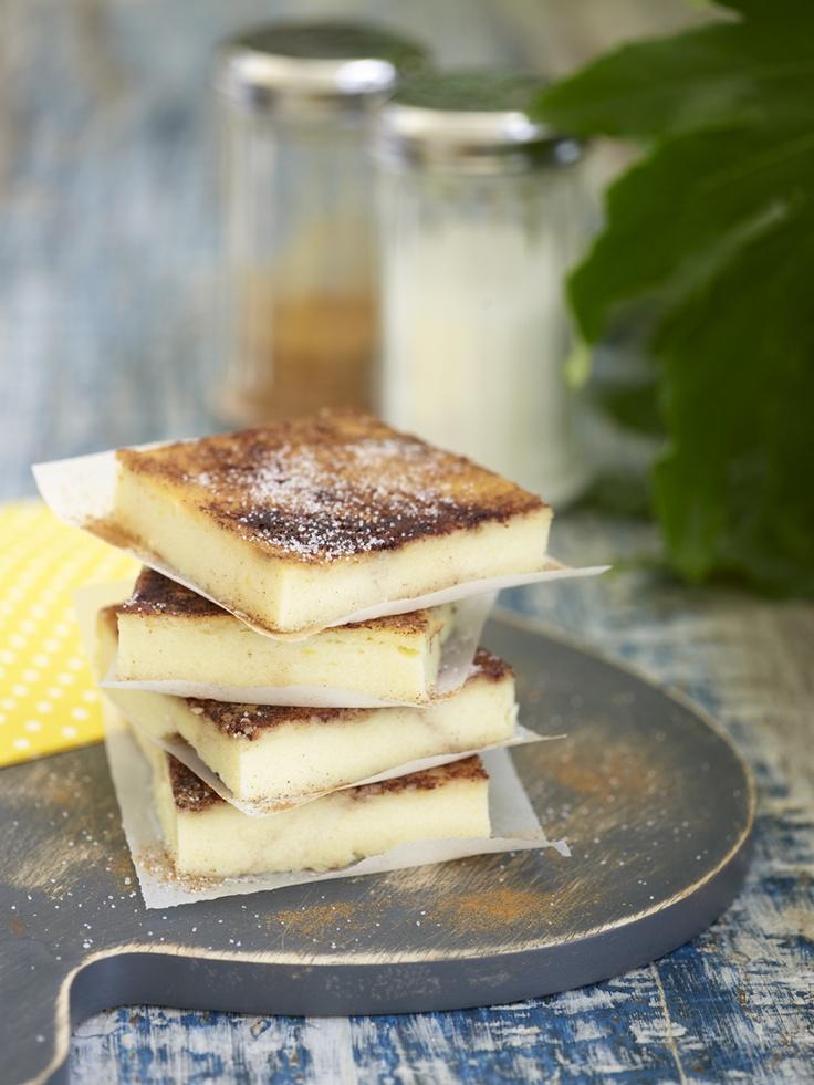 Greek milk pie Food styling Antonia Kati photo by Vangelis Paterakis