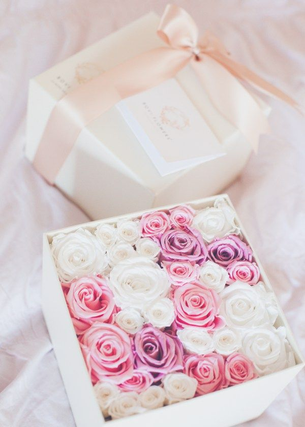 The Loveliest Luxury Flowers In A Box For Valentines Day