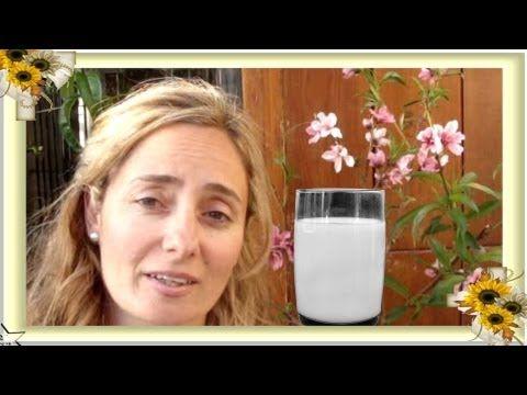 Cómo hacer leche de alpiste para adelgazar, bajar el colesterol, diabetes (milk) by Pilar Rosado.