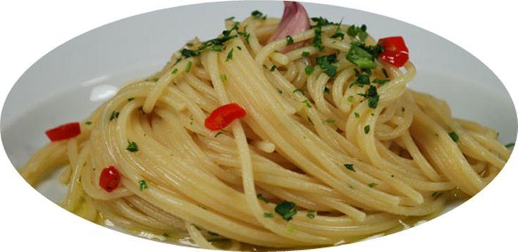 Spaghetti aglio ,olio e peperoncino