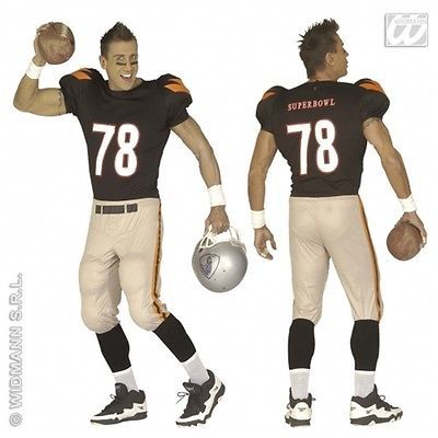 Mens #american football #player #fancy dress costume small,  View more on the LINK: http://www.zeppy.io/product/gb/2/400797166718/