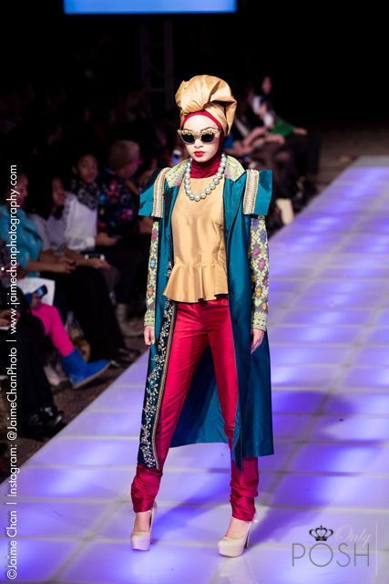 NEW YORK - ONLYPOSH.COM COVERS THE DIAN PELANGI INDONESIA RUNWAY SHOW FOR THE COUTURE FASHION WEEK F/W 2015 SEASON.  FOLLOW US: www.OnlyPosh.com