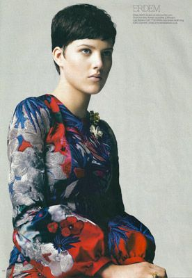Jenny King embroidery for Erdem A/W 09