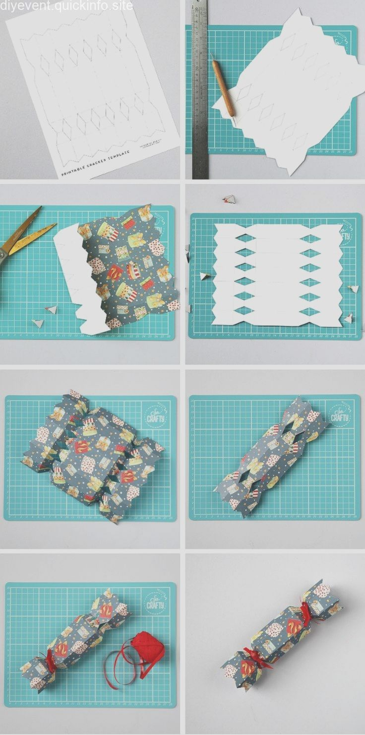 LEARN HOW TO MAKE DIY CHRISTMAS CRACKERS WITH THIS FREE
