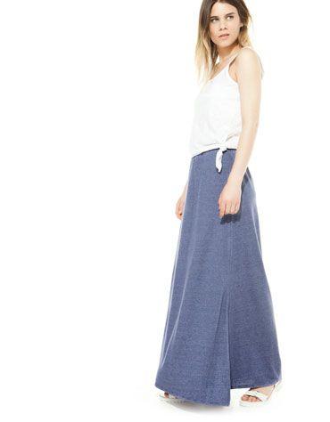 #falda #elástica #larga @Bershka 12,99€