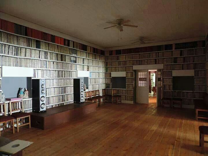 The Royal Hotel Record Library in South Africa