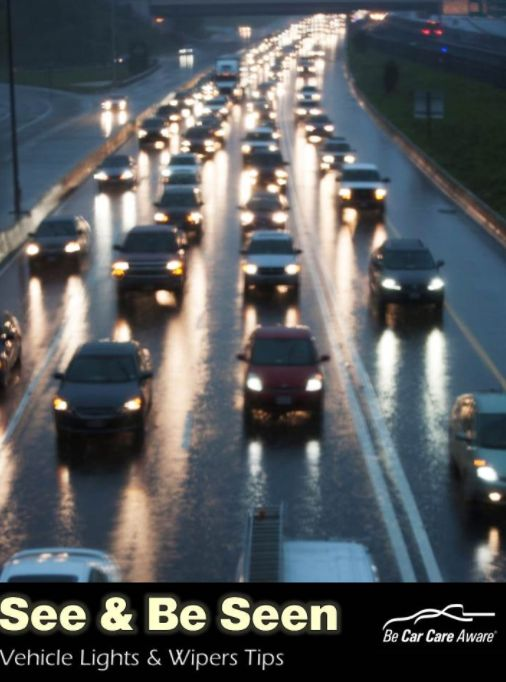 Days are getting shorter and we want to help everyone see and be seen on the roads!  Here are a couple tips from@carcarecouncil: http://www.carcare.org/vehicle-lights-wipers-keys-see-seen/