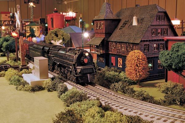 lionel christmas train layout | gauge layout - Toy Train Layouts - Classic Toy Trains - Trains ...