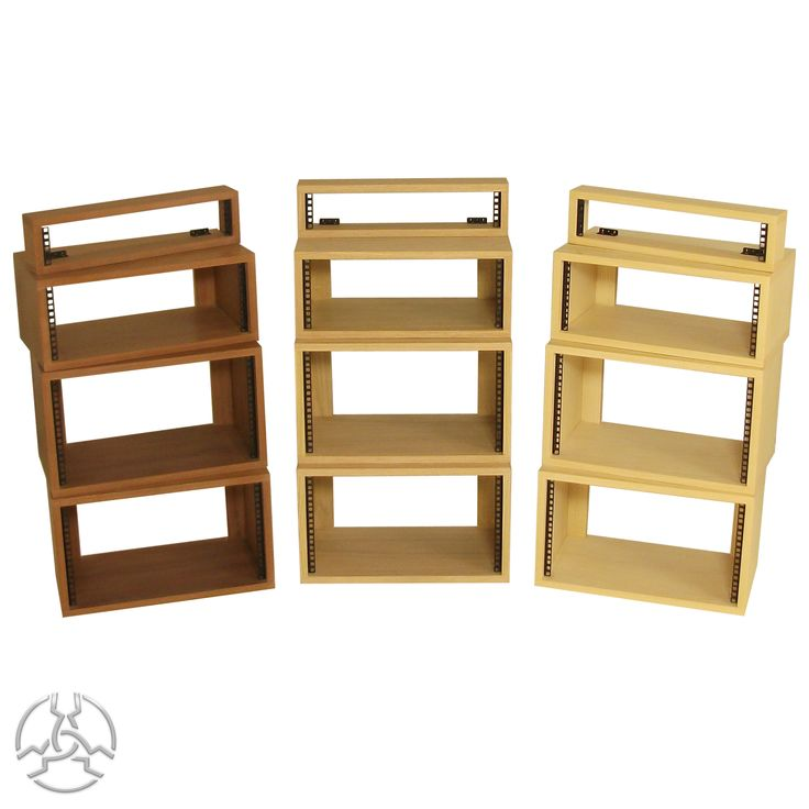 "19"" Veneered Rack Pods from- £81 - Inc vat.  Description: The SMP Veneered Desk top rack pods are manufactured from 19mm Real wood veneered MDF with a added clear wax finish and fitted with rack strip for mounting 19 inch rack equipment."