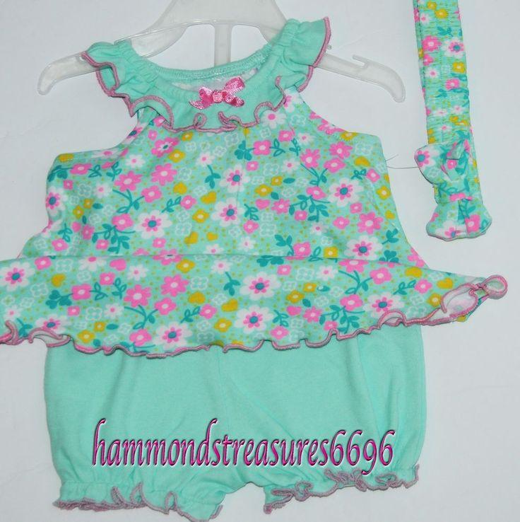 Park Bench Kids 3pc.Set BABY DRESS, PANTS & MATCHING HEADBAND * NWT* 3-6mo.  | eBay