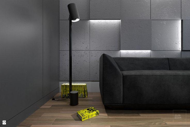 Prosty i nowoczesny pokój dla nastolatka. - zdjęcie od ZELER-DESIGN - Pokój dziecka - Styl Minimalistyczny - ZELER-DESIGN