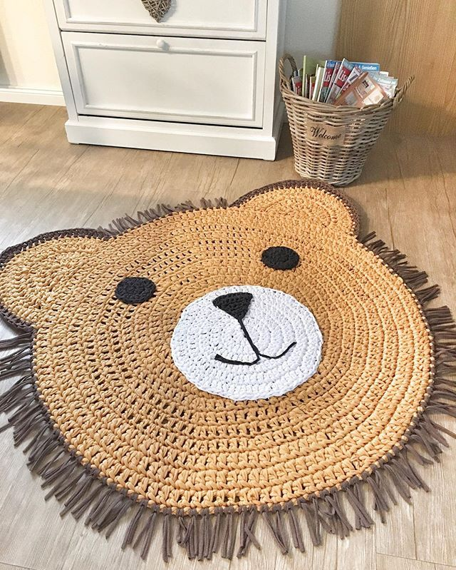 Ein Löwe für kleine wilde Buben  @juna_bi_ #crochet #crochetrug #lion #löwe #löwenkind #kinderzimmerdeko #kinderzimmer #baby #babyzimmer #kidsroomdecor #kidsinterior #hoookedzpagetti #hoooked #häkelliebe #handmade #selbstgemacht #momtobe