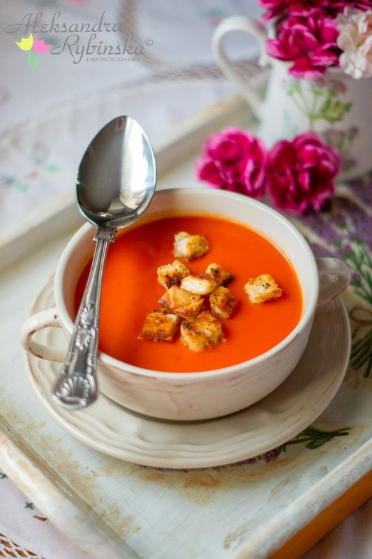 Krem pomidorowy prowansalski