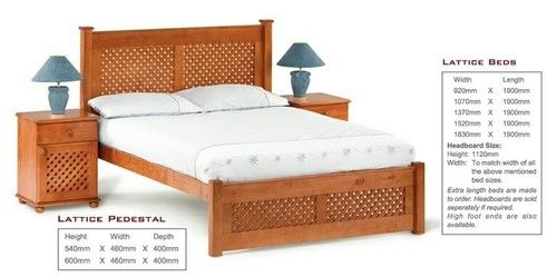 Lattice Low footend Bedroom Suite