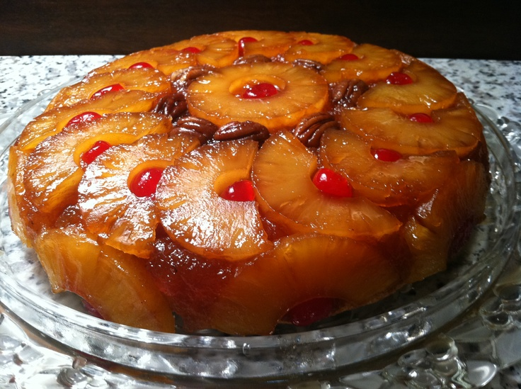 A recipe that never goes out of style and is always a keeper - PINEAPPLE UPSIDE-DOWN CAKE. Cook it in an iron skillet and you'll know why it's been a family favorite for over 50 years.