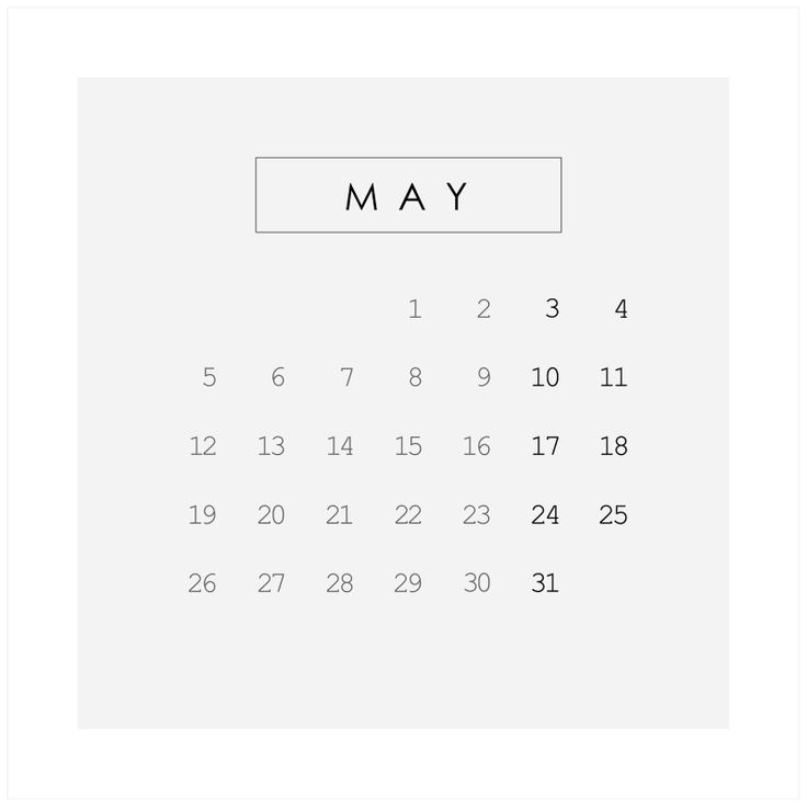 life as a moodboard: 2014 calendar | MAY