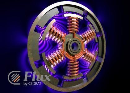 محاكاة للأجهزة الكهربائية والكهرومغناطيسية والحرارية Altair Flux 12.2 x64
