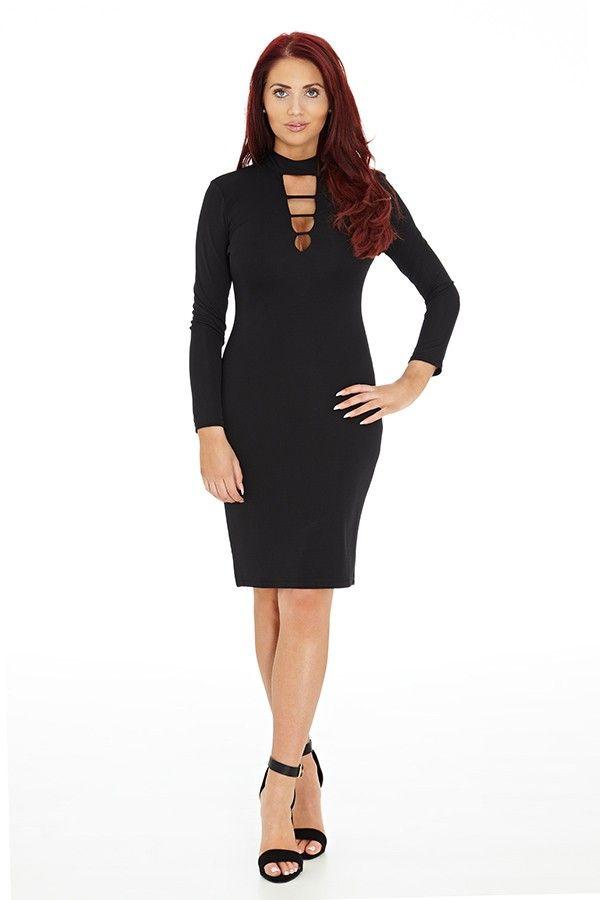 Boohoo Olivia Square Neck Sleeveless Peplum Short Bodycon Dress | eBay
