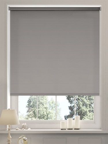 Sevilla Tranquility Dove Blackout Roller Blind from Blinds 2go