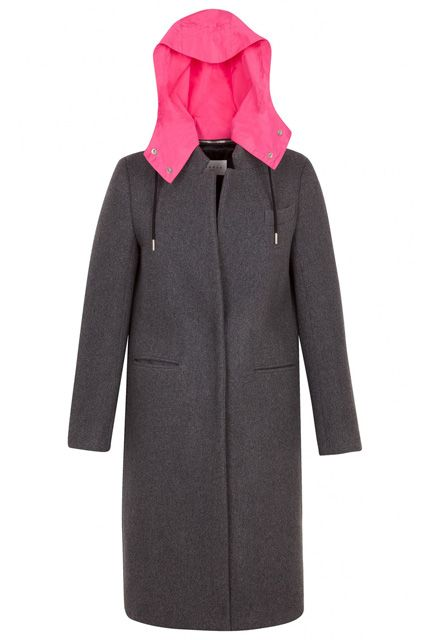 15 Extra-Warm Winter Jackets On Sale Right Now, Because It's Cold  #refinery29  http://www.refinery29.com/hooded-winter-jackets-on-sale#slide-6  A sleek, longline coat with a removable rain hood maintains your business vibe and keeps your 'do intact.
