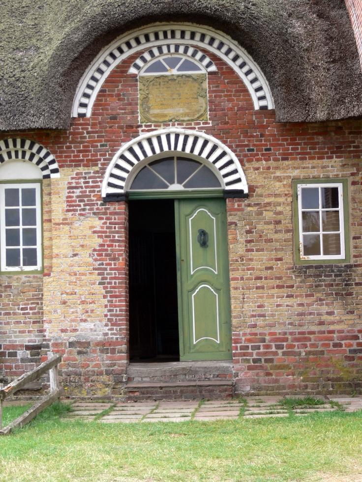 Rømø ( Denmark ). Kommandørgård National Museum - Entrance door.