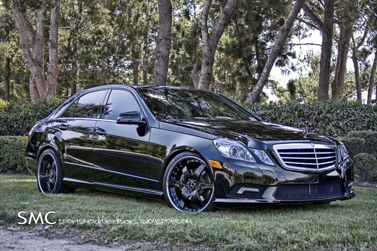 Mercedes E350 Wheels | Mercedes Benz E350 Gets Eye Candy Treatment from Hess Motorsports ...