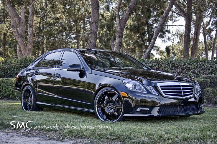 Mercedes E350 Wheels | Mercedes Benz E350 Gets Eye Candy Treatment from Hess Motorsports ...