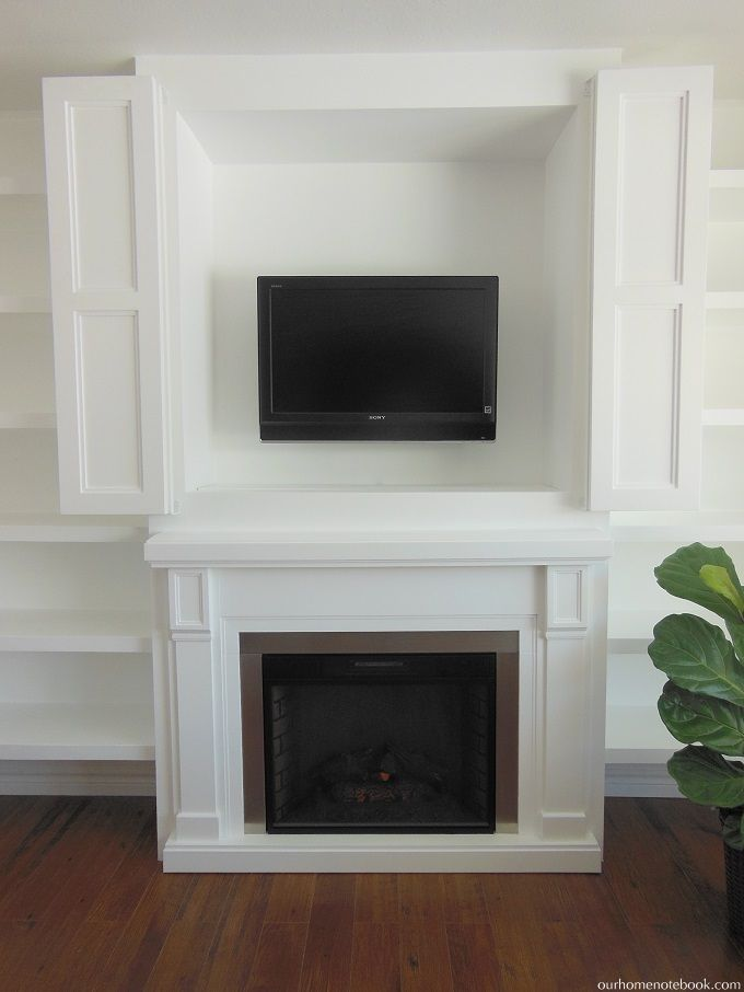 Best 25 Tv Nook Ideas On Pinterest Fireplace Remodel