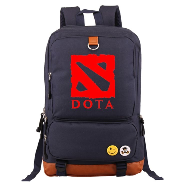(26.91$)  Watch now - http://airdz.worlditems.win/all/product.php?id=32544172778 - High Quality 2017 New Game Dota 2 Printing Leisure Laptop Men Fashion Backpack School Bags for Teenagers Mochila Escolar bagpack