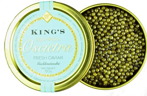 New caviar label from Kings Fine Food! What do you think?