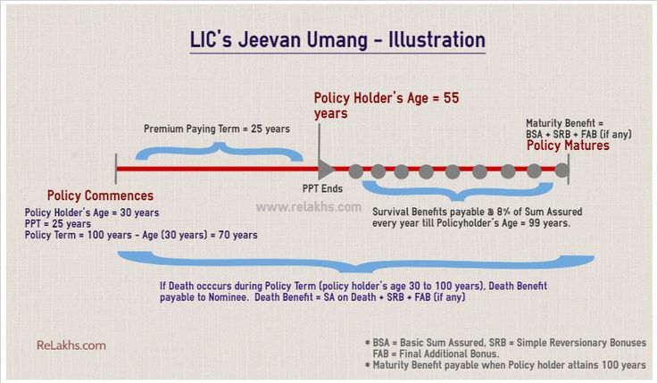 LIC Jeevan Umang – New Whole Life Plan | Features, Illustration & Review