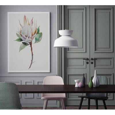A La Mode Studio Cool Botanical Canvas Wall Art & Reviews   Temple & Webster
