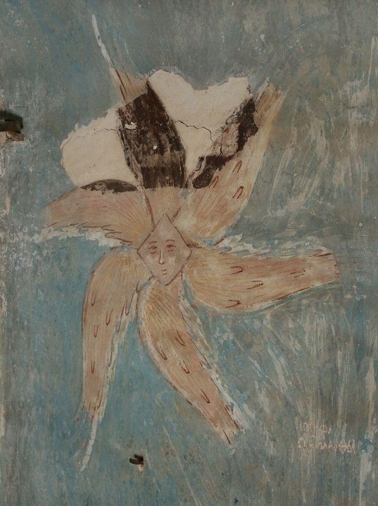 Музей фресок Дионисия - Разрез по северному продольному нефу. Вид на юг - Серафим