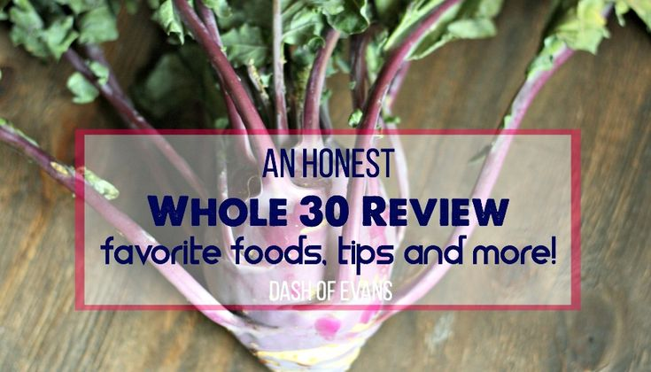An Honest Whole 30 Review {Plus a Tasty Chicken Thigh Recipe!}