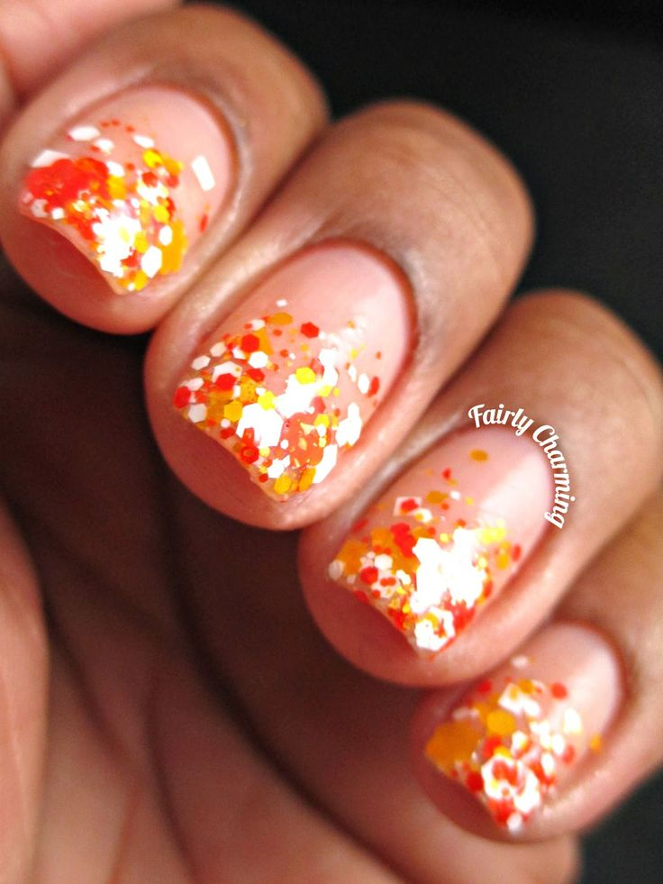 Fairly Charming Candy Corn Tips