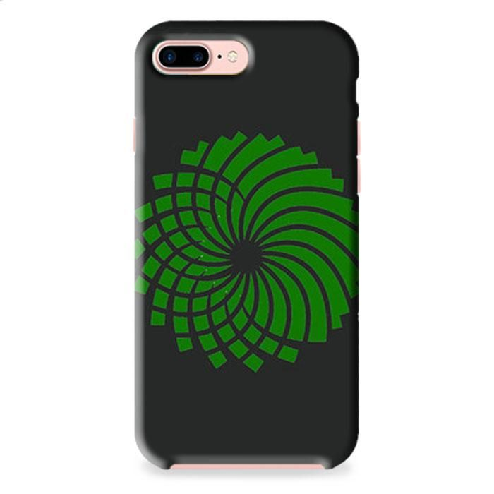 Green Party Logo Grey iPhone 7 Plus 3D Case Dewantary