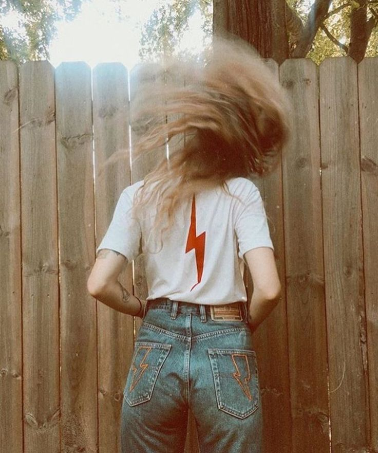 - Ziggy Tee in honor and celebration of the late and forever great David Bowie - 10% of proceeds will be donated to the American Cancer Society - Available in Vintage White - 50% Polyester/ 50% Cotton