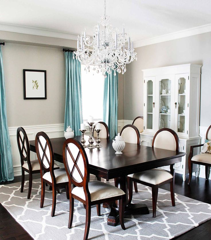 Rug In Dining Room: Best 25+ Rug Under Dining Table Ideas On Pinterest