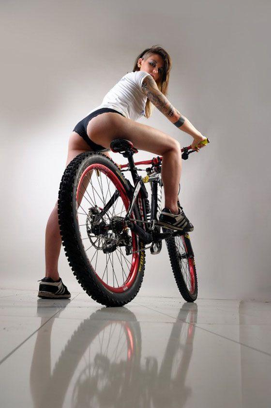 Kết quả hình ảnh cho girl and fat bike