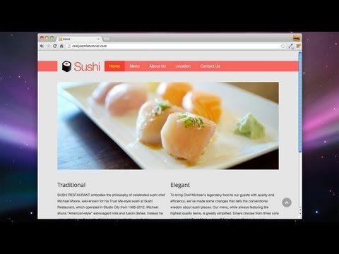 (5) Build a Joomla Website in 1 Hour! - 2013 (Joomla 3!) - YouTube
