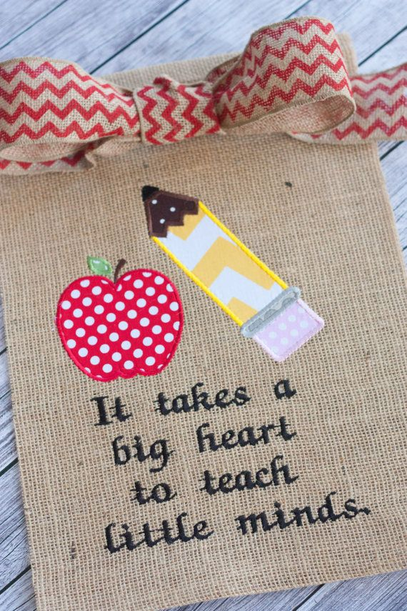 End of the Year Teacher Gift Embriodery by LittleSunshineGrace, $22.00