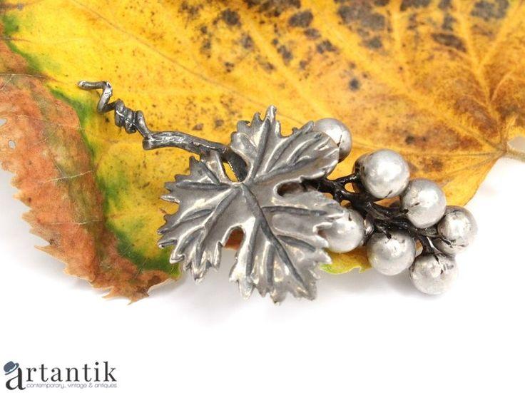Pandant, miniatura din argint