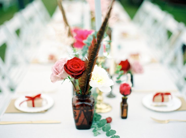Event Hire - Brown Bottles (Assorted):  Narrative Hire  //  Styling:  Tebbey & Co.  //  Image: Molly Matcham