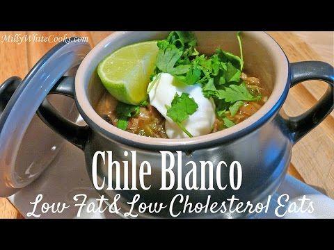 Chicken Chili Blanco   Low Fat Low Cholesterol Diet Recipe   Heart Healthy Meals  Gluten Free - YouTube