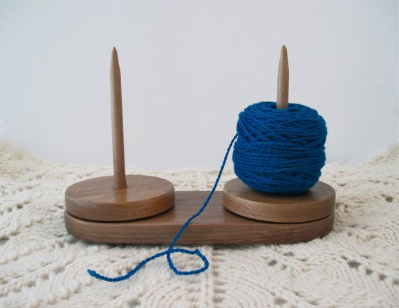 Knitting Wool Holder Hobbycraft : Yarn caddy double holder for knitting and crochet